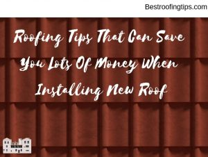 Roofing HInts